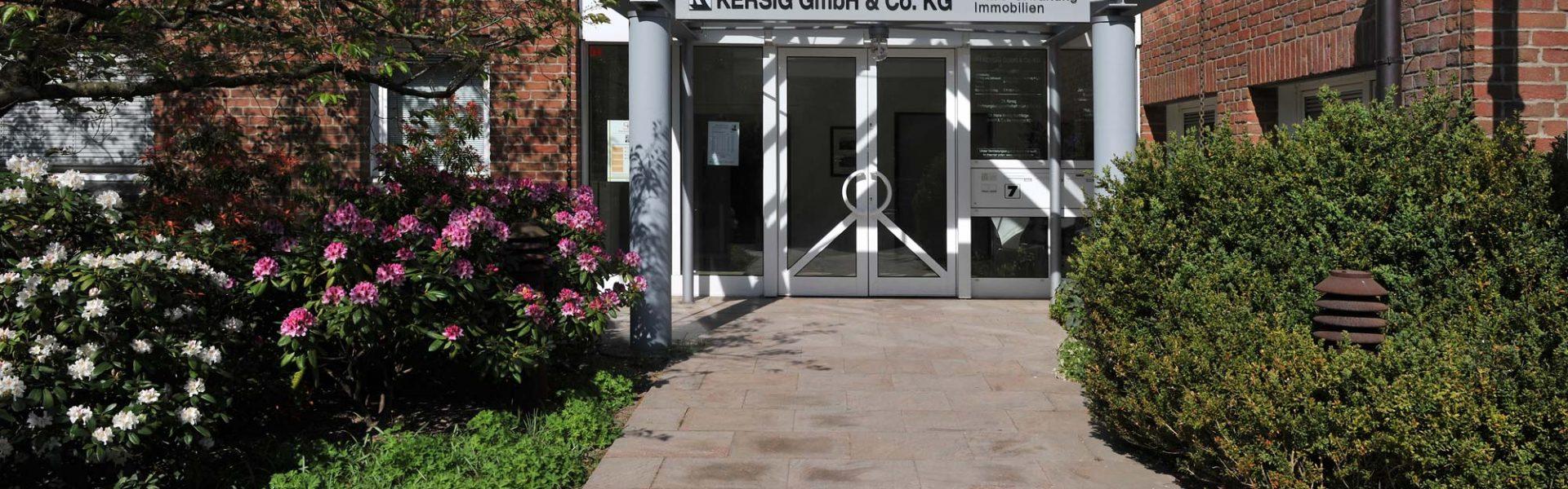 Eingangsbereich Annestraße 7, Kiel