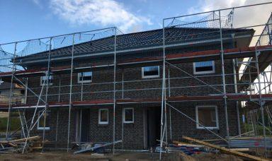 Neu erbaute Haushälfte am Ortsrand von Kappeln